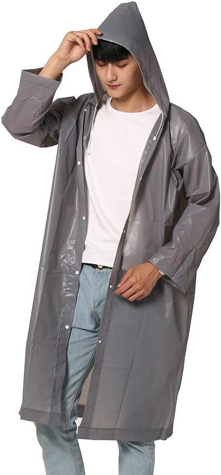 Riutilizzabile WARMTOWER Poncho Impermeabile Portatile per Adulti per Uomo e Donna