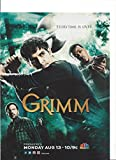 grimm cast - --PRINT AD-- With The Cast of Grimm TV Promo --PRINT AD--