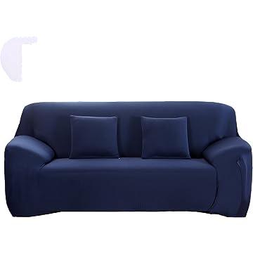 Amazing Eleoption Stretch Fabric Sofa Slipcover 1 2 3 4 Piece, Elastic Sectional  Sofa Cover Slipcover