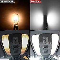 194/168/2825/T10 LED Bulbs, CREE XB-D Chips, SEALI