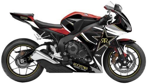 Factory Effex 16-15322-OS Rockstar Series Outline Star Complete Street Bike Graphic Kit for Honda CBR1000RR