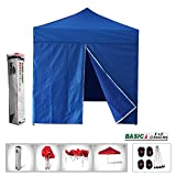 New Eurmax Basic Pop Up Canopy With Sidewalls Instant Outdoor Party Tent Shade Gazebo
