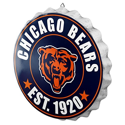 Chicago Bears 2016 Bottle Cap Wall -