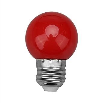 Starnearby Bombillas LED de colores 3 W E27, iluminación de bombillas, LED de colores