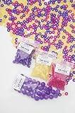 Magic Solar UV Beads, 250pcs. Color-change Solar Pony Beads for Craft Making & Kindi Kid Style