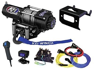 KFI Combo Kit - A3000 Winch & Winch Mount - 2015-2018 Honda Foreman Rubicon TRX500 FA5 / FA6 / FA7