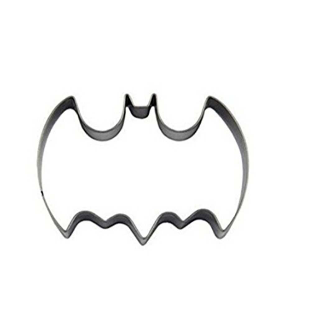 Edtoy Metal Cookie Cutter Stainless Steel Biscuit Fondant Cookie Cutter Mold (Batman)