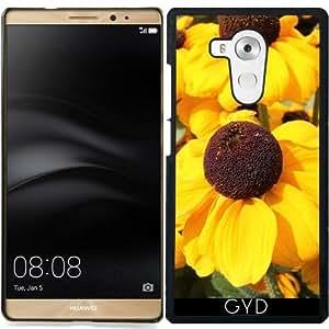 Funda para Huawei Mate 8 - Flores De Color Amarillo Brillante by Christine aka stine1