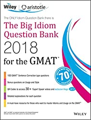 Wiley's The Big Idiom Question Bank 2018 for the GMAT