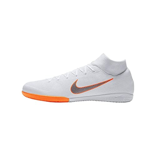 Nike Mercurial Superflyx 6 Academy IC, Zapatillas de Fútbol para Hombre, Blanco (White/Chrome-Total O 107), 44 EU: Amazon.es: Zapatos y complementos