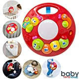 BABY HANG ABOUT Baby toy - Playpen accessory and crib activity center - Stair gate attachment - Car activity toy - Safety Gate