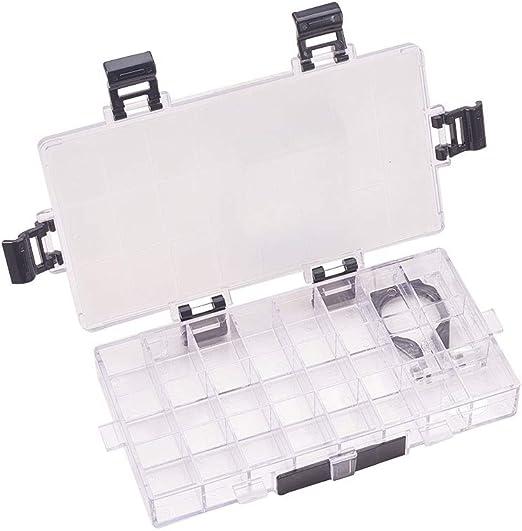 WANDIC Caja de Paleta, 1 Pieza de 24 Wells vacía hermética para ...