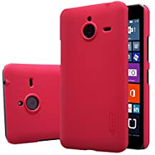 Nillkin Microsoft Lumia 640 XL Super Frosted Shield with Retail Packaging, Bright Red