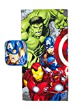 Marvel Avengers Crackle Pop 2 Piece Cotton Bath and Wash Set