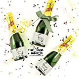 CUSTOM - Welcome to My I Do Crew Mini Champagne or Mini Wine Labels, Olive Branch Champagne Labels, SET OF 10 3'' x 2'' waterproof labels