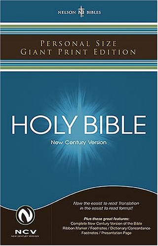 The Holy Bible: New Century Version Personal Size Giant Print ebook