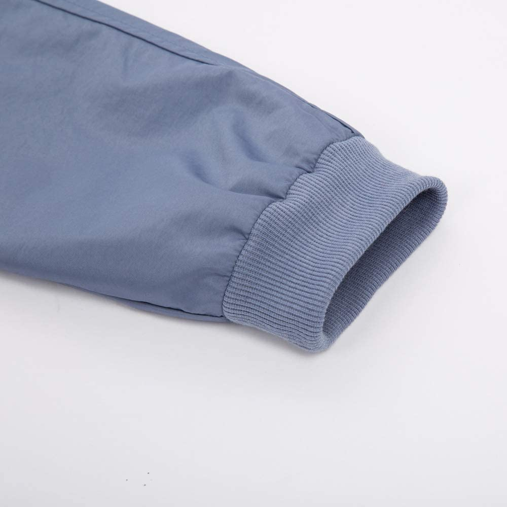 Curlbiuty Damen Regenmantel Outdoor Wasserdicht Leicht /Übergangsjacke mit Kapuze Casual Lang Mantel