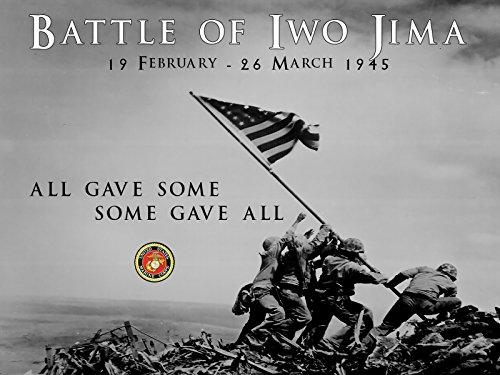 Battle of Iwo Jima Poster USMC Motivation Poster WW2 18x24 (IwoJima13)