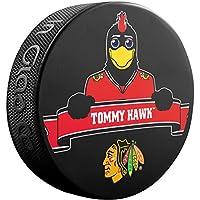 Tommy Hawk (Blackhawks Team Mascot) Souvenir Hockey Puck