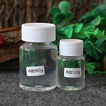 Dos Componentes a Resina Epoxy Transparente B para Bricolaje y Bricolaje