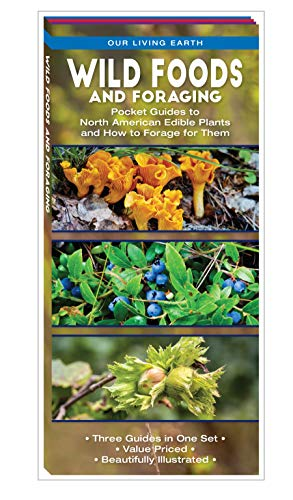Wild Foods and Foraging: Pocket Guides to North American Edible Plants and How to Forage for Them (Our Living Earth)