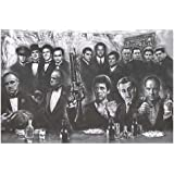 Gangsters Collage Television and Movie Poster 36x24