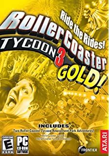 Amazon com: Rollercoaster Tycoon 3: Soaked! Expansion - PC