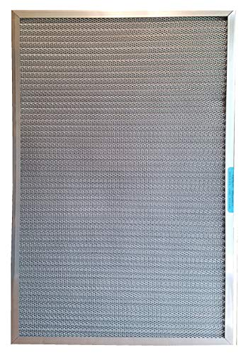 (5-Stage CERTIFIED MERV RATED Electrostatic Washable Permanent Furnace A/C Air Filter - The highest MERV rating of any lifetime filter - Traps particles including MOLD POLLEN SMOKE PET DANDER (16x20x1))