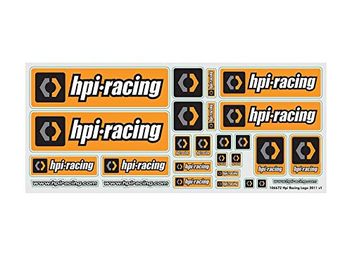 - HPI Racing Logo 2011 V1 Sticker Sheet 106672