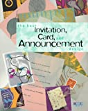 Best Invitation, Card, and Announcement Design, Rockport Publishers Staff, 1564963632