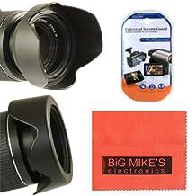 58mm Reversible Digital Tulip Flower Lens Hood For Canon Digital EOS Rebel SL1, T1i, T2i, T3, T3i, T4i, T5, T5i, XSI, XS, XTI, EOS60D, EOS70D, 50D, 40D, 30D, EOS 5D, EOS5D Mark 2, EOS6D, EOS7D, EOS M Digital SLR Cameras Which Has Any Of These (18-55mm, 55-250mm, 55-250mm, 18-250mm, 18-250mm, 75-300mm, 50mm 1.4 , 55-200mm. 70-300mm) Canon Lenses + More!!