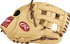 Take the field like the pros with the Rawlings Select Pro Lite Youth Baseball Glove. Styled after the glove used by Kris Bryant, this lightweight, all-leather glove with pro-style features is designed for durability, reliable shape retention,...