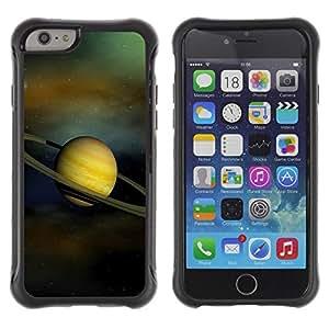 Suave TPU GEL Carcasa Funda Silicona Blando Estuche Caso de protección (para) Apple Iphone 6 PLUS 5.5 / CECELL Phone case / / Saturn Planet Space /