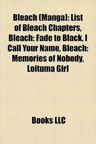 Bleach manga : Bleach characters, Bleach episode lists