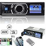 ePathChina 4CH x 50W Auto Car Stereo Audio In-Dash Aux Input Receiver with MP3/WMA/USB/SD/MMC/AUX FM Radio Player