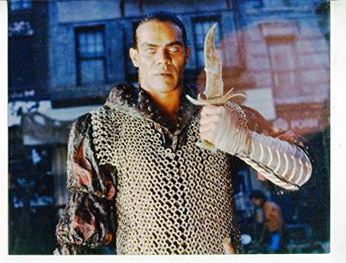 Talking picture PHOTO: Cyborg-Vincent Klyn-8x10-Color-Still-Sci-Fi