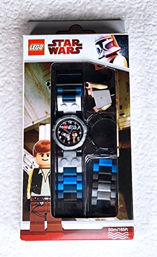 Lego Star Wars Han Solo Minifigure Buildable Watch Set (Lego Watch Vader Darth)