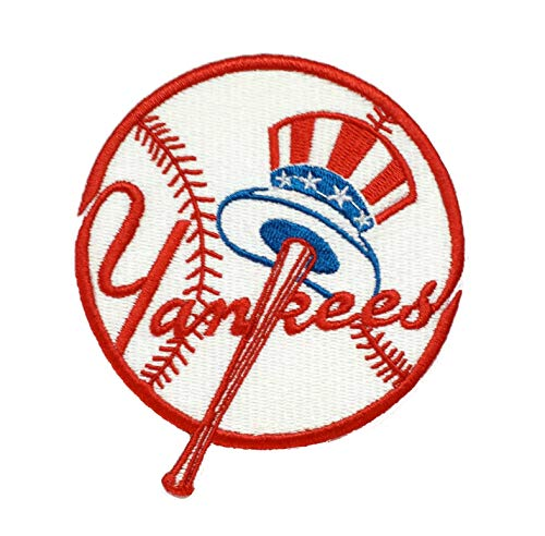 Yankee's Baseball Embroidered Sew/Iron On Patch 4