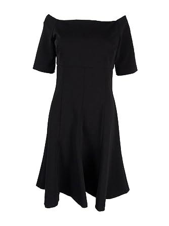 45cac36c130 Image Unavailable. Image not available for. Color  Lauren Ralph Lauren  Women s Off-The-Shoulder Jersey Dress ...