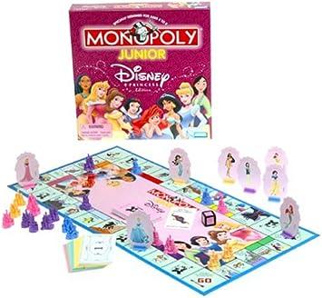 Monopoly Junior Disney Princess by Hasbro: Amazon.es: Juguetes y juegos