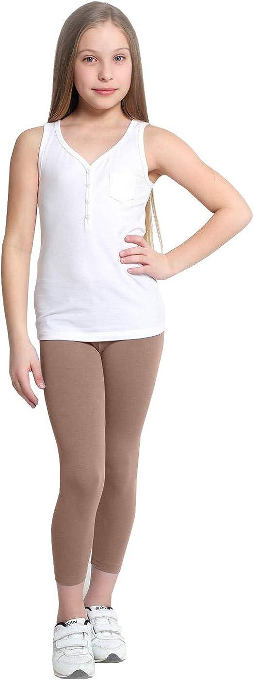 FUNGO Kids Long Leggings Cotton Girls Pants Gymnastics Dance Leggins fdd