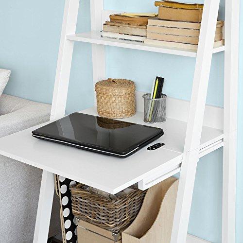 Modernes Bücherregal sobuy modernes bücherregal mit schreibtisch standregal wandregal