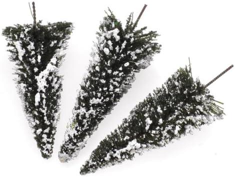 sharprepublic 杉の木 白い雪 樹木模型 モデルツリー ツリー模型 情景コレクション風景 箱庭 鉄道模型 建物模型 約20個