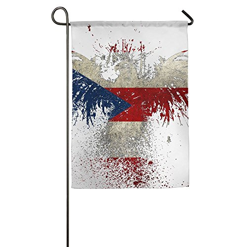 Yisliferunaz American Flag Clipart Garden Flag Outdoor Banner Home Decor Premium Polyester House Flags For Game Sports Celebrate Family Party Election 12