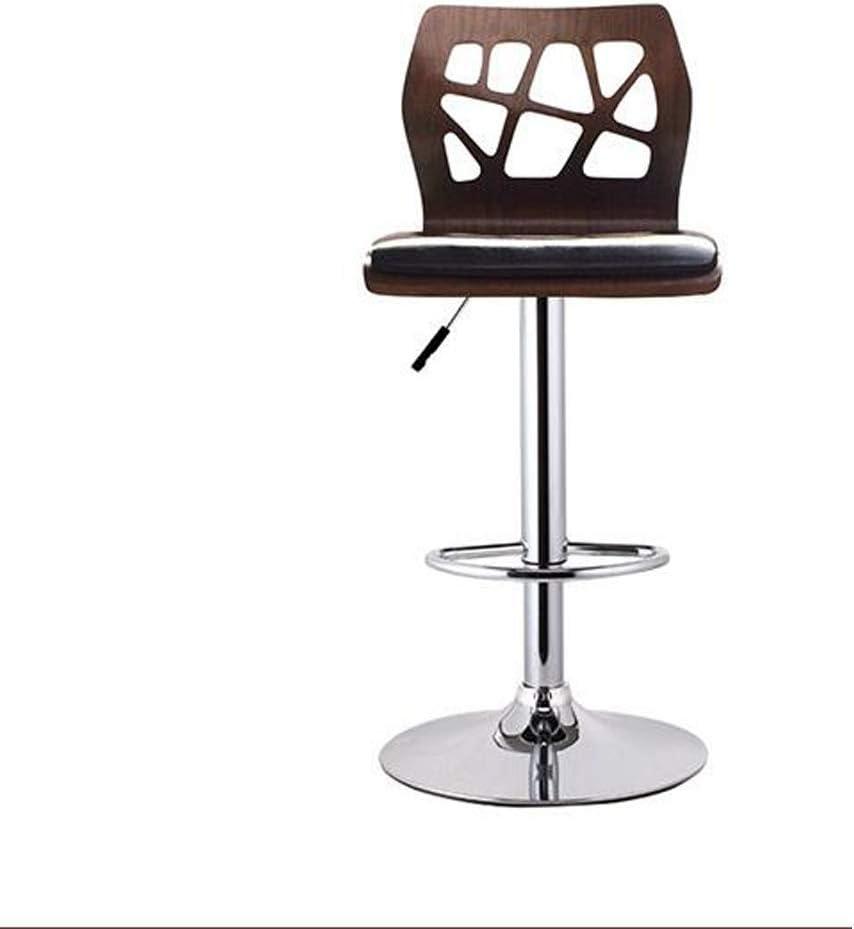 Amazon.com: HBJP Solid Wood PU Leather High Chair Bar Chair High