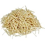 1000 Plain Natural Wooden Matchsticks Bulk Pack