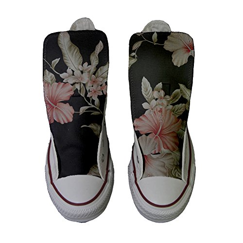 Chaussures Star artisanal Rosa All produit Converse Coutume fleurs 6qpxEwW5W
