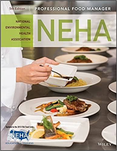 Professional Food Manager 5th Edition 5 Neha National