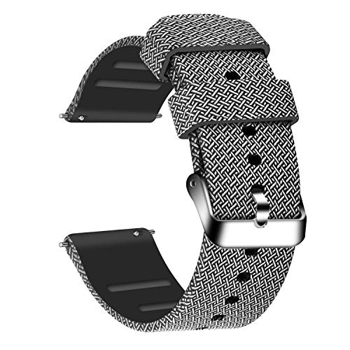 - Lwsengme Silicone Watch Replacement Bands with Quick Release-Choose, Choose Color & Width (20mm,22mm) Soft Rubber Watch Strap for Men & Women Smart Watch Fitness (Colorful-04, 22mm)
