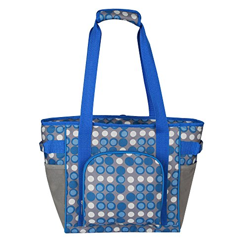 leopard-outdoor-insulated-soft-tote-bag-30-can-cooler-bag-blue-dotperfect-size-for-shopping-picnic-o